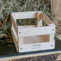 Holz Geschenkskorb